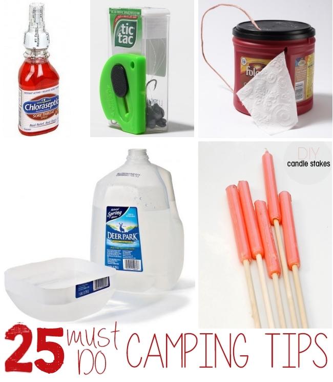family camping hacks