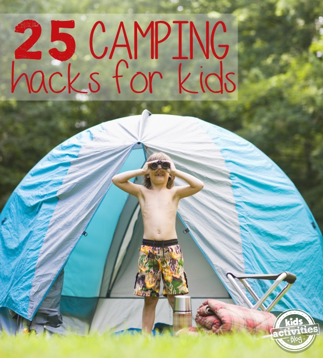 camping with kids tips
