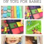 Diy Toys For Babies Sensory Toys Sensory Boards And