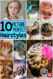10 day hairstyles girls
