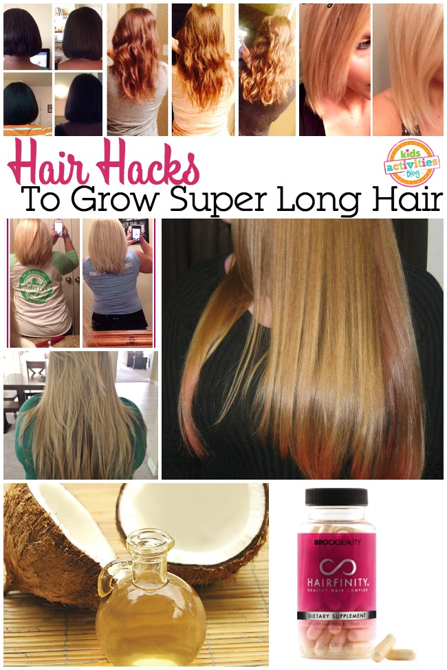 Hair Hacks To Grow Out Your Hair