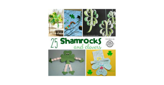 Shamrock Crafts Activities And Treats Clovers Too