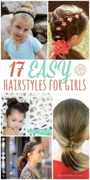 lazy hairstyle ideas girls