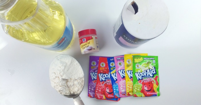 ingredients you need to make play dough