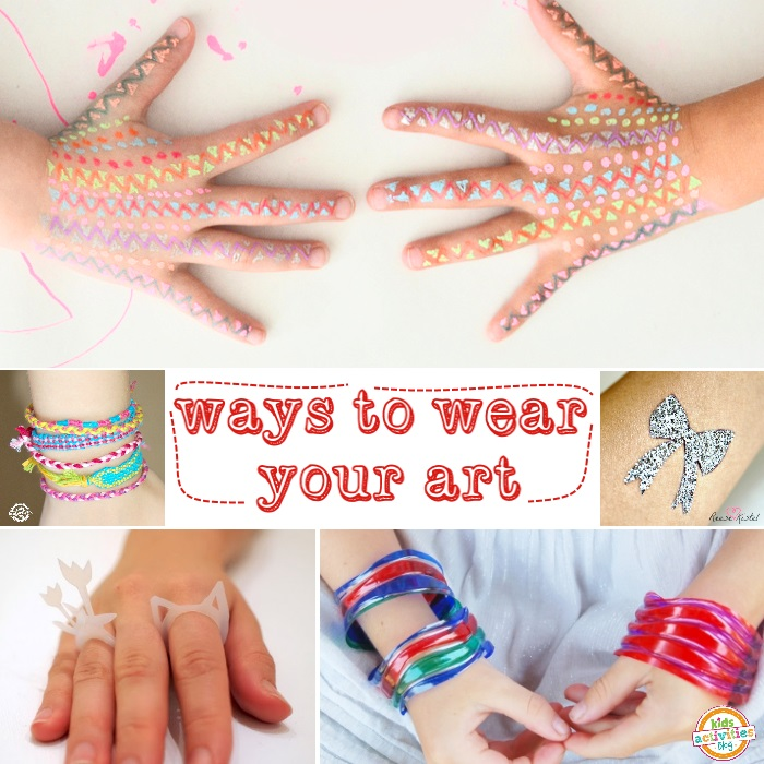 ways to wear your art
