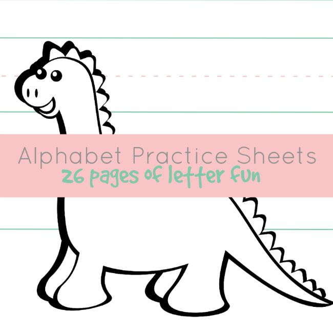 Alphabet Practice Sheets - Member Library
