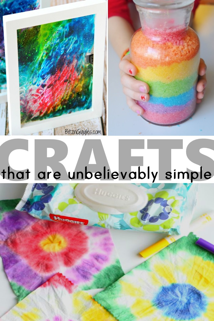 20 simple crafts kids