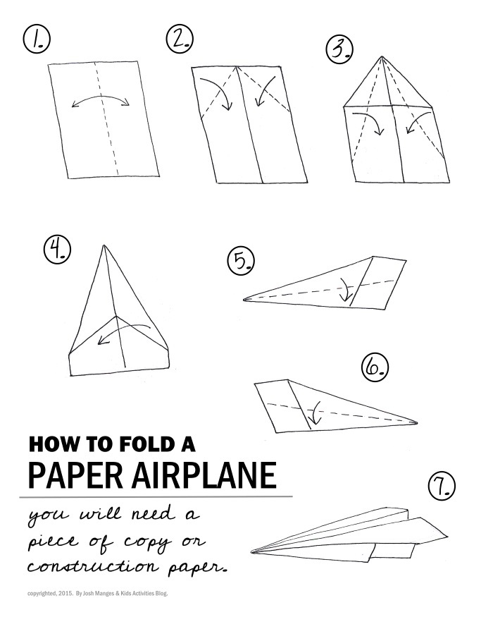 cool paper plane diagram 2006 nissan 350z stereo wiring how to fold a airplane step by auto