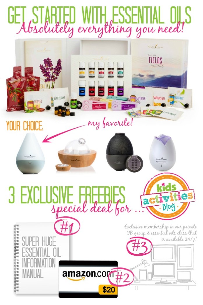 Young Living Essential Oils Deal from Kids Activities Blog