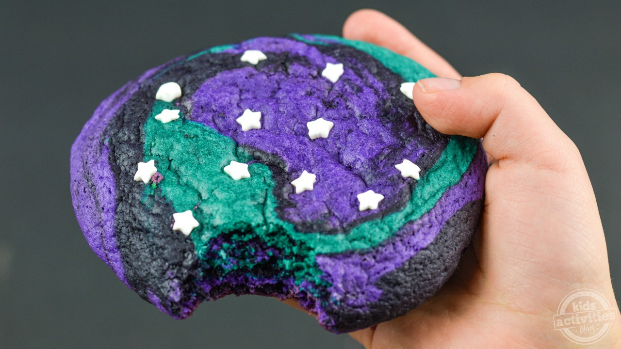 Out Of This World Galaxy Sugar Cookies