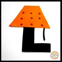 L Is For Lamp. Letter L Craft