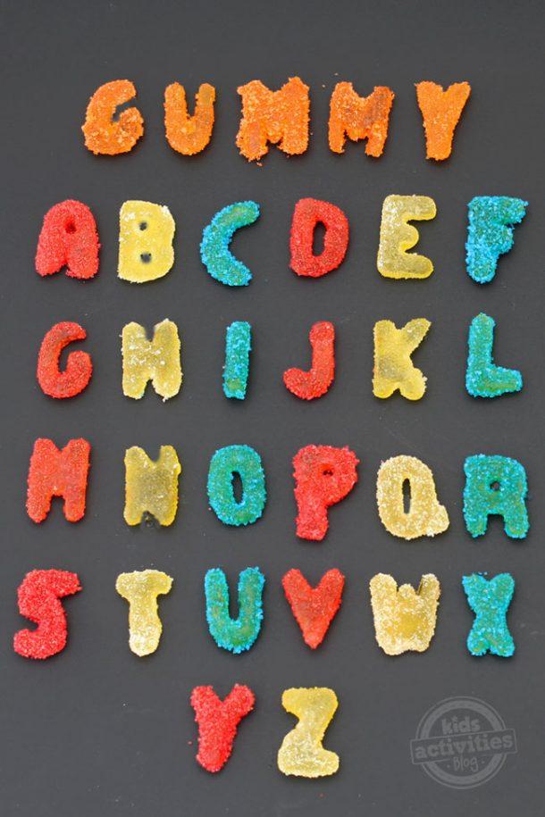 homemade-sour-gummy-alphabet-for letter y
