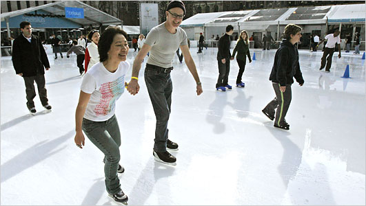 Ice Skating For The Holidays