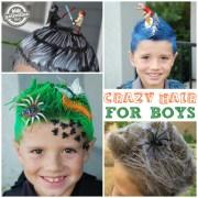 crazy hair day ideas school