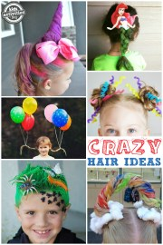 crazy hair day ideas school