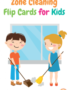 Zone cleaning chore cards for kids also printable charts rh kidsactivitiesblog