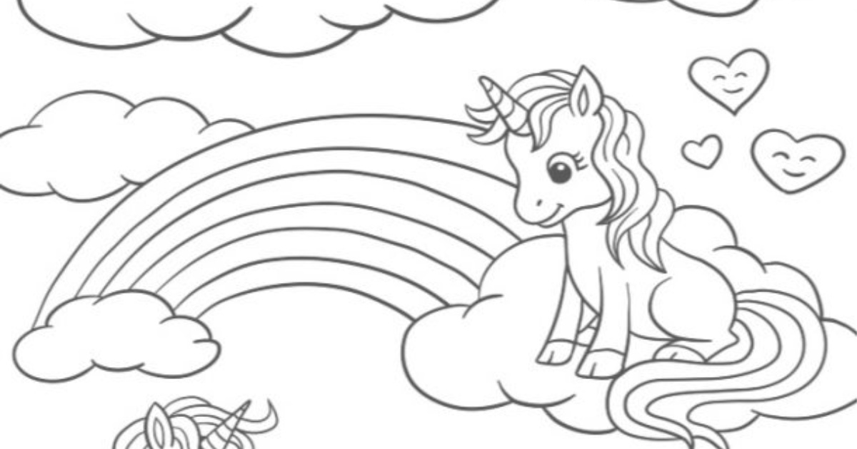 Unicorn Printable!