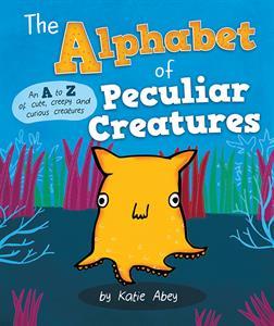 Usborne Alphabet of Peculiar Creatures book cover art
