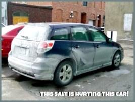 Salt hurts cars!