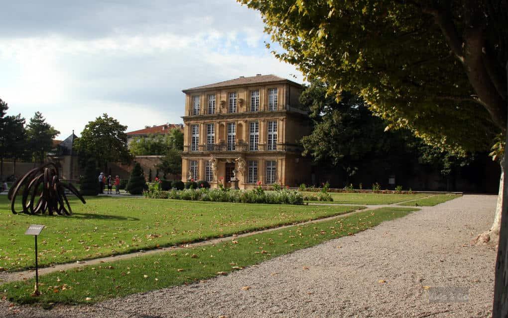 Aix-en-Provance z dziecmi - parki i ogrody - Pavillon Vendome