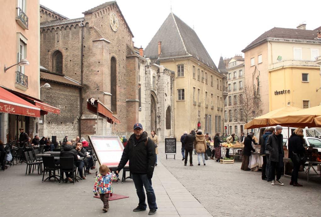 Zwiedzanie Grenoble z dziecmi
