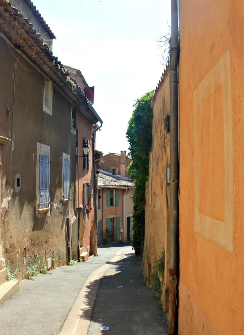 Miasteczka Prowansji - Roussillon