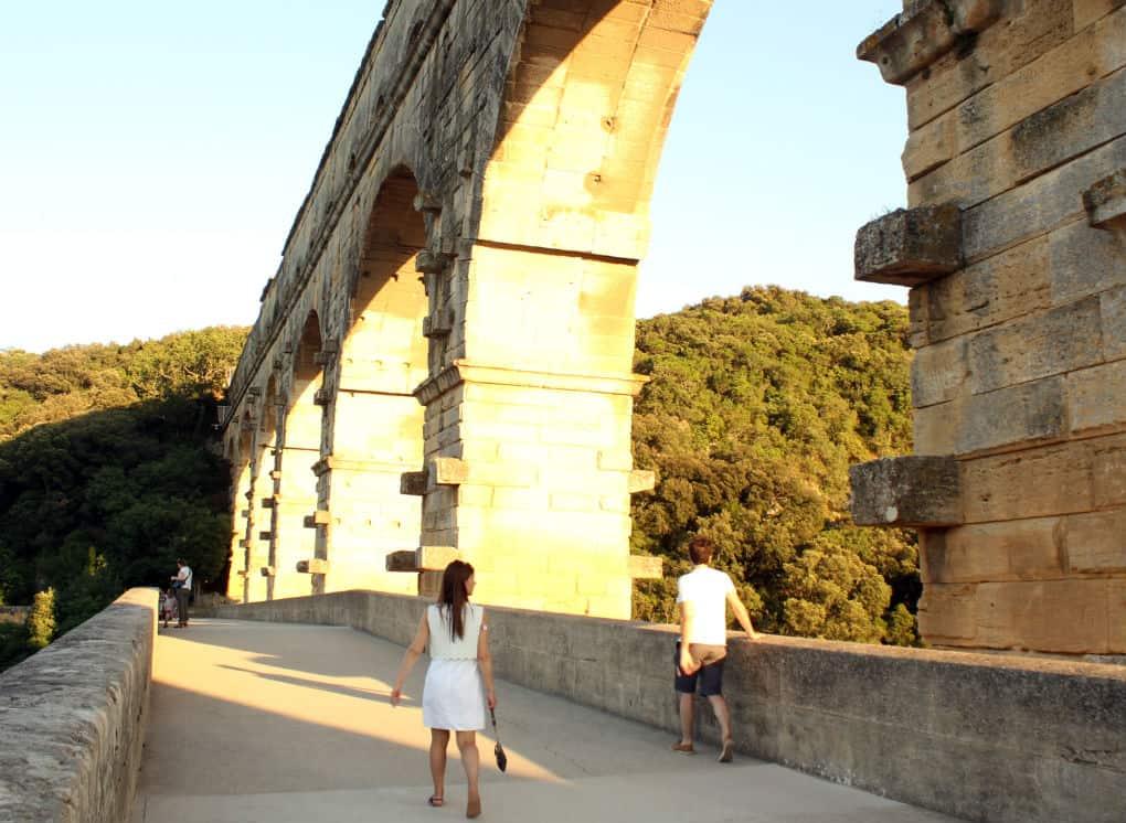Atrakcje Południowej Francji - Pont du Gard