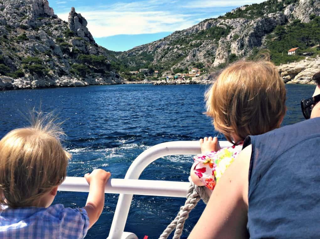 calanques z dziećmi - rejs statkiem