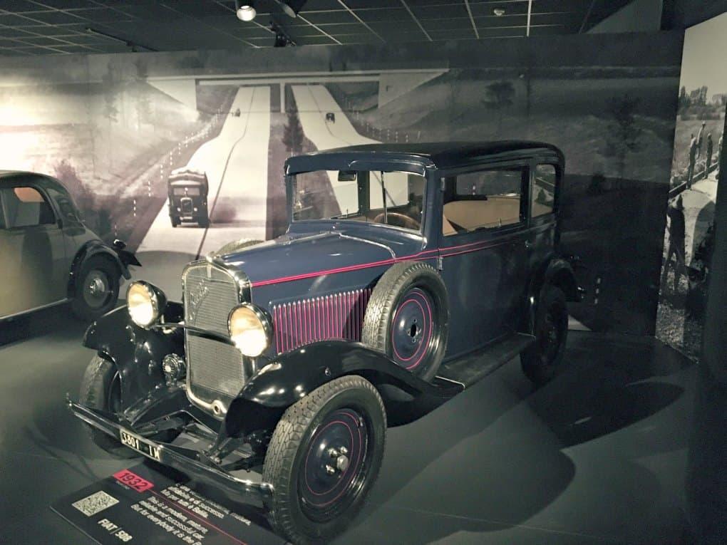 Muzeum Samochodów w Turynie
