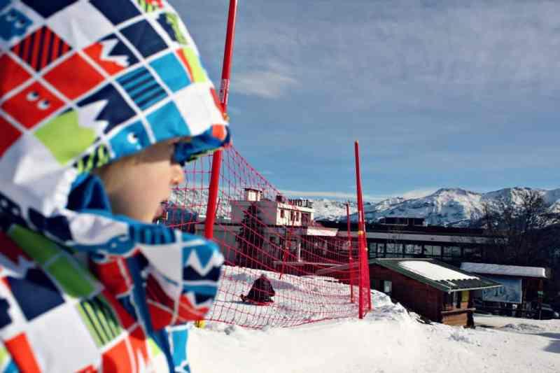 narty we Francji z dzieckiem