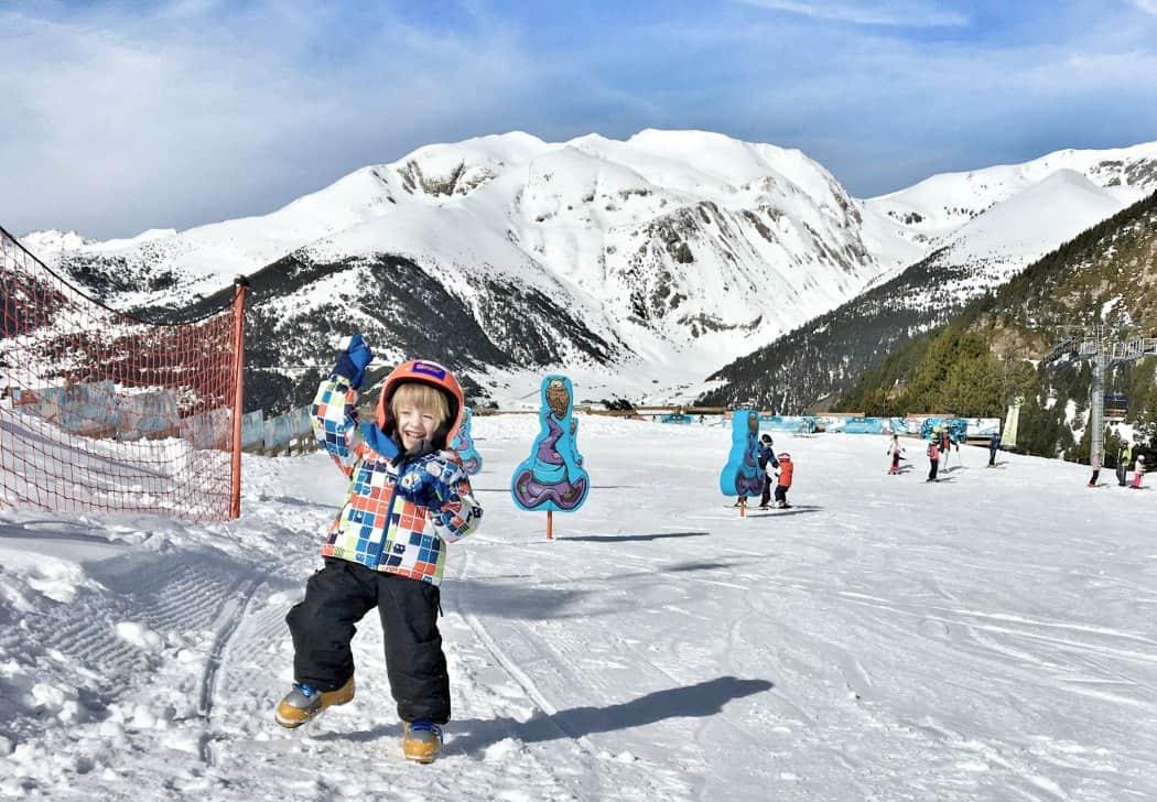 Andora - narty z dziećmi