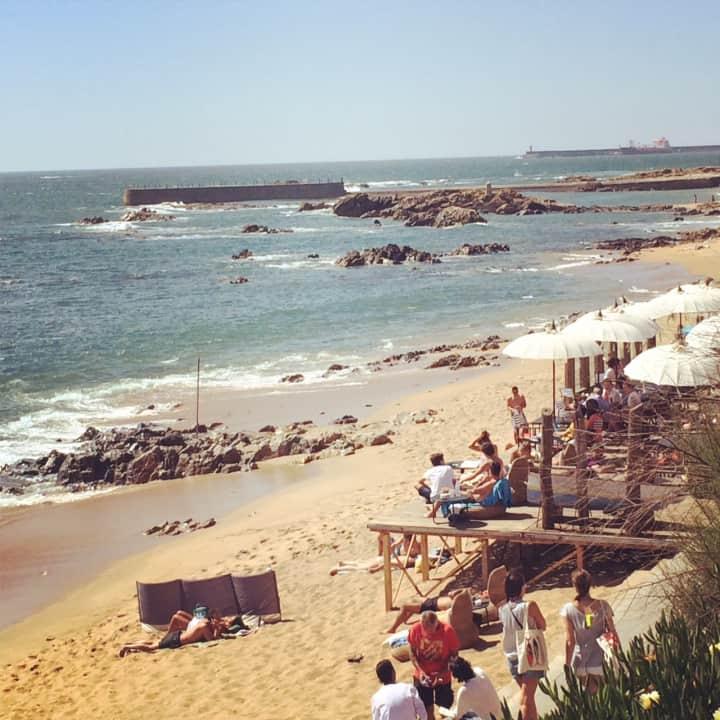 Plaże w Porto