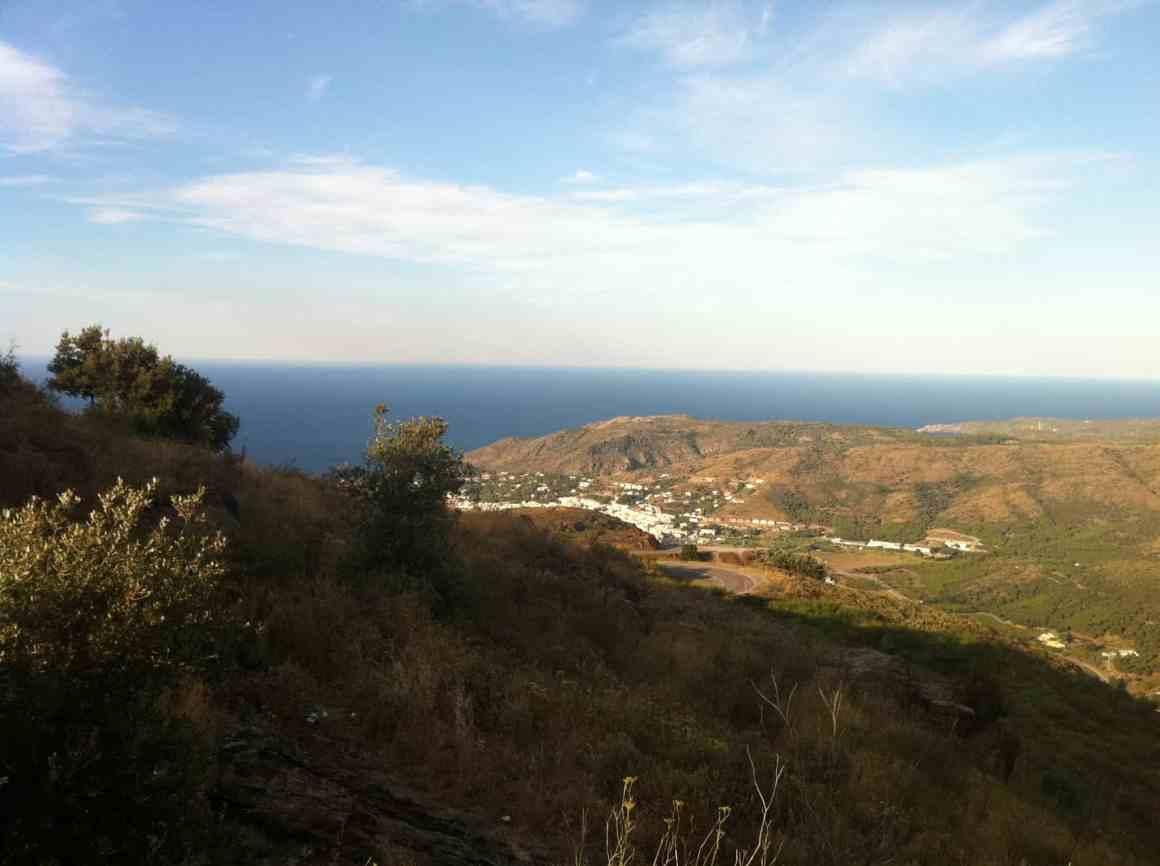 Widok na Port de la Selva