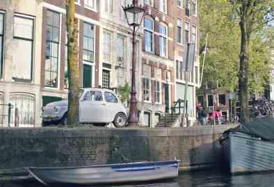 Amsterdam - rejs kanalami