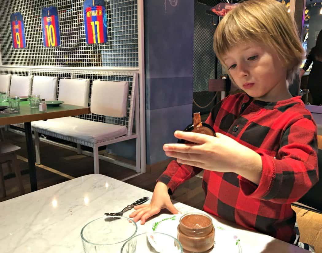Barcelona z dzieckiem - gdzie jeść