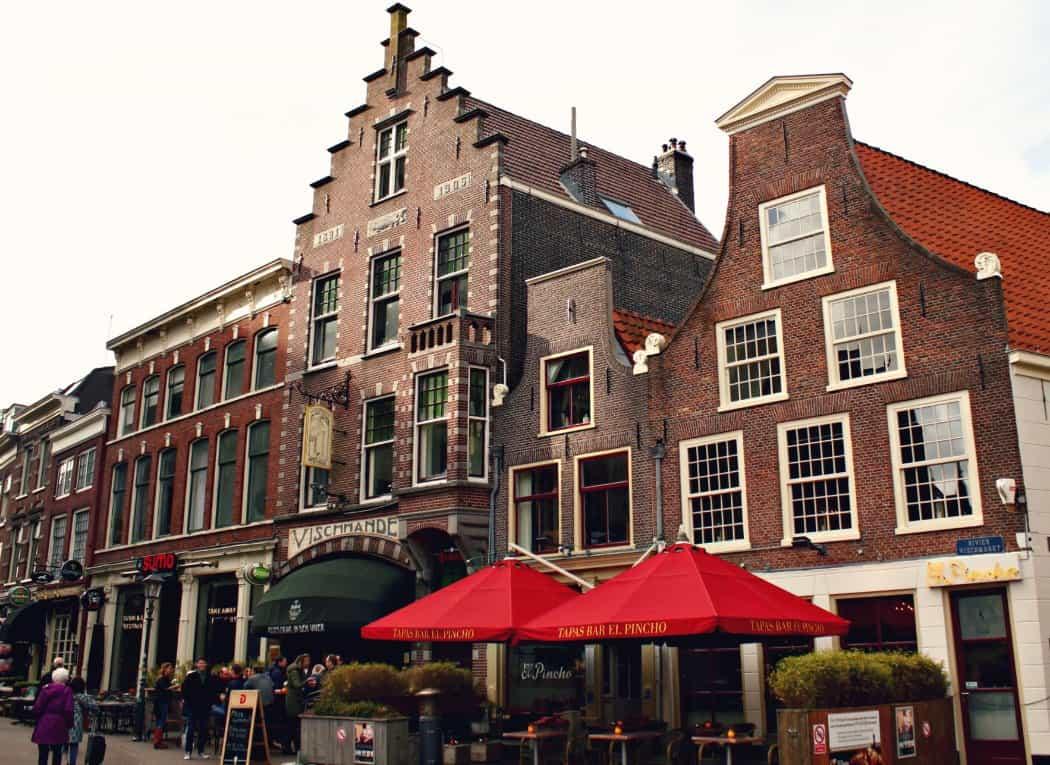Kamienice w Haarlem