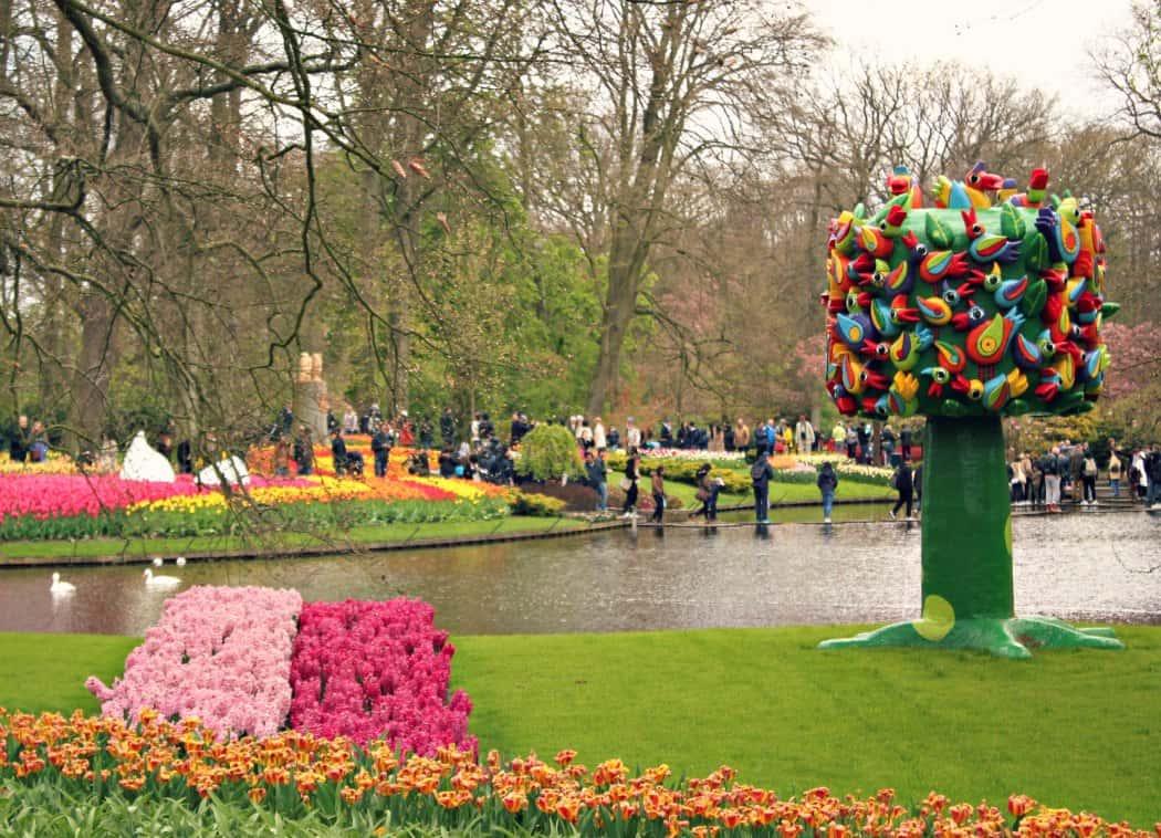 Holandia z dzieckiem - Ogrody Keukenhof