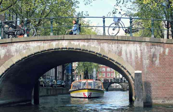 Zwiedzanie Amsterdamu