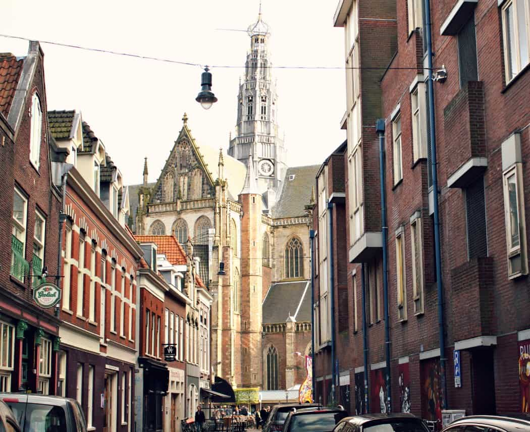 Uliczki w Haarlem