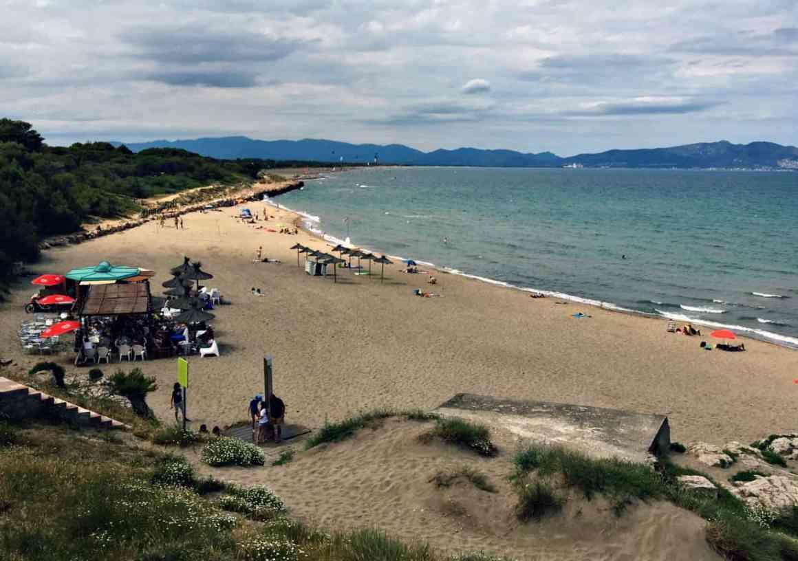 Noclegi na Costa Brava przy plaży
