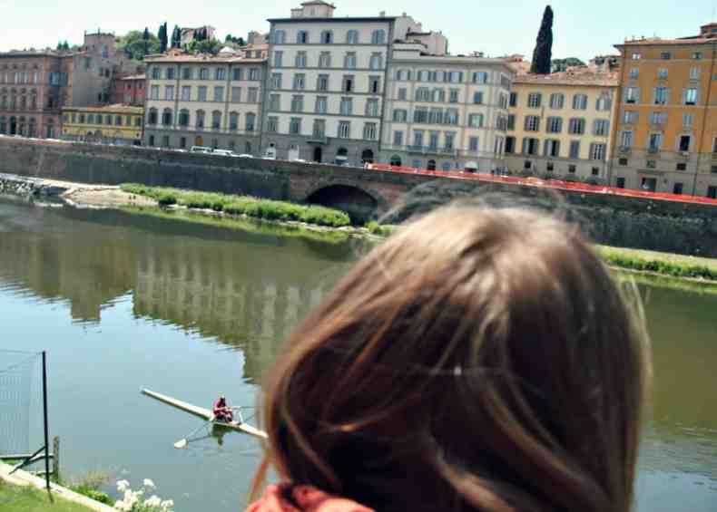 Florencja z dzieckiem