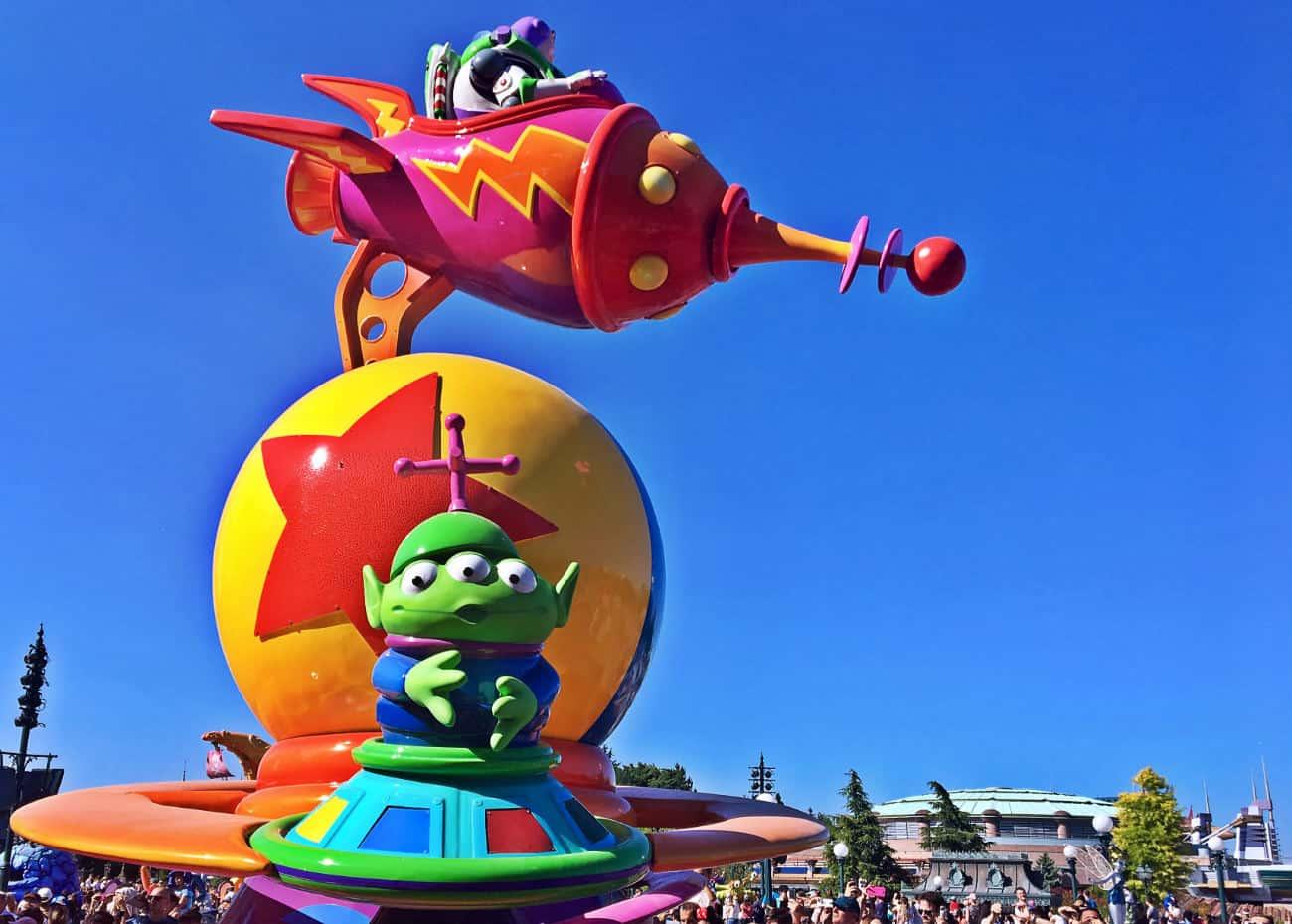Parada w Disneyland Paris
