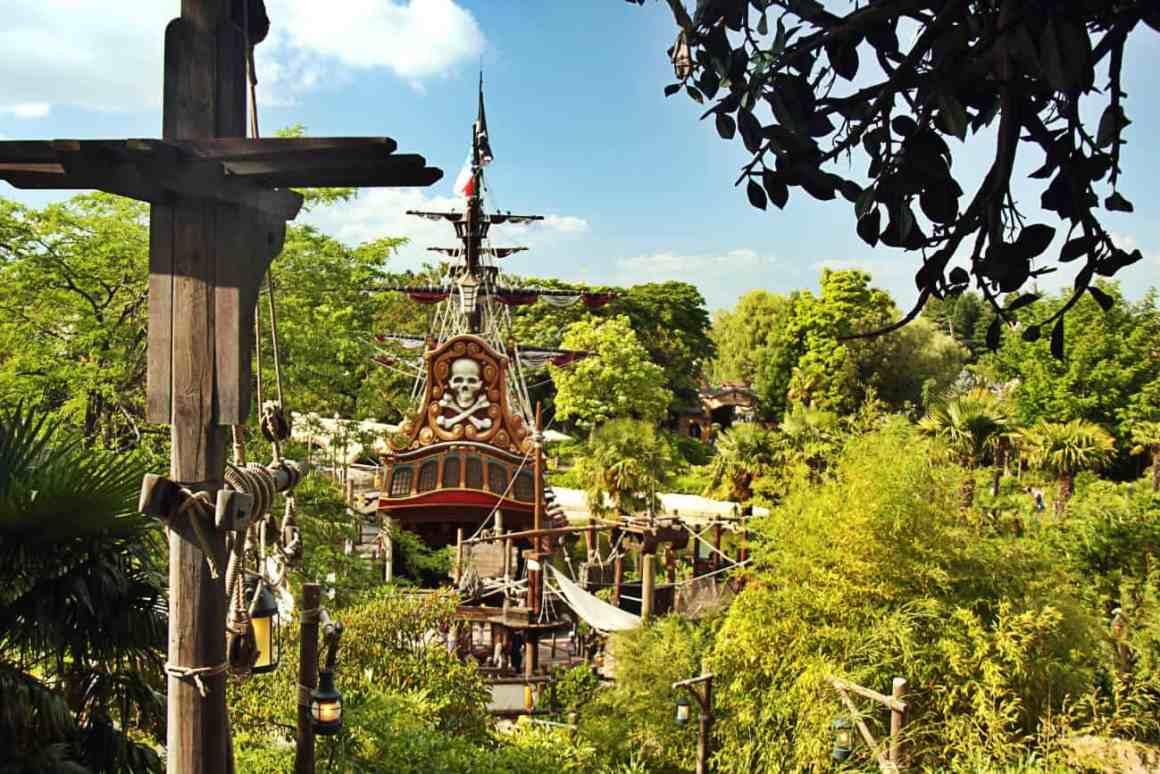 Atrakcje w Disneyland Paris