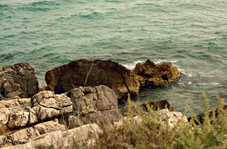 Plaże na zachód od Marsylii