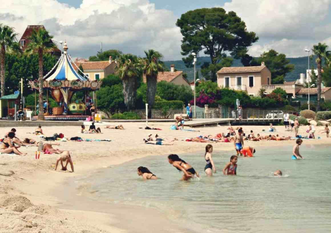 Plaże w okolicach Marsylii