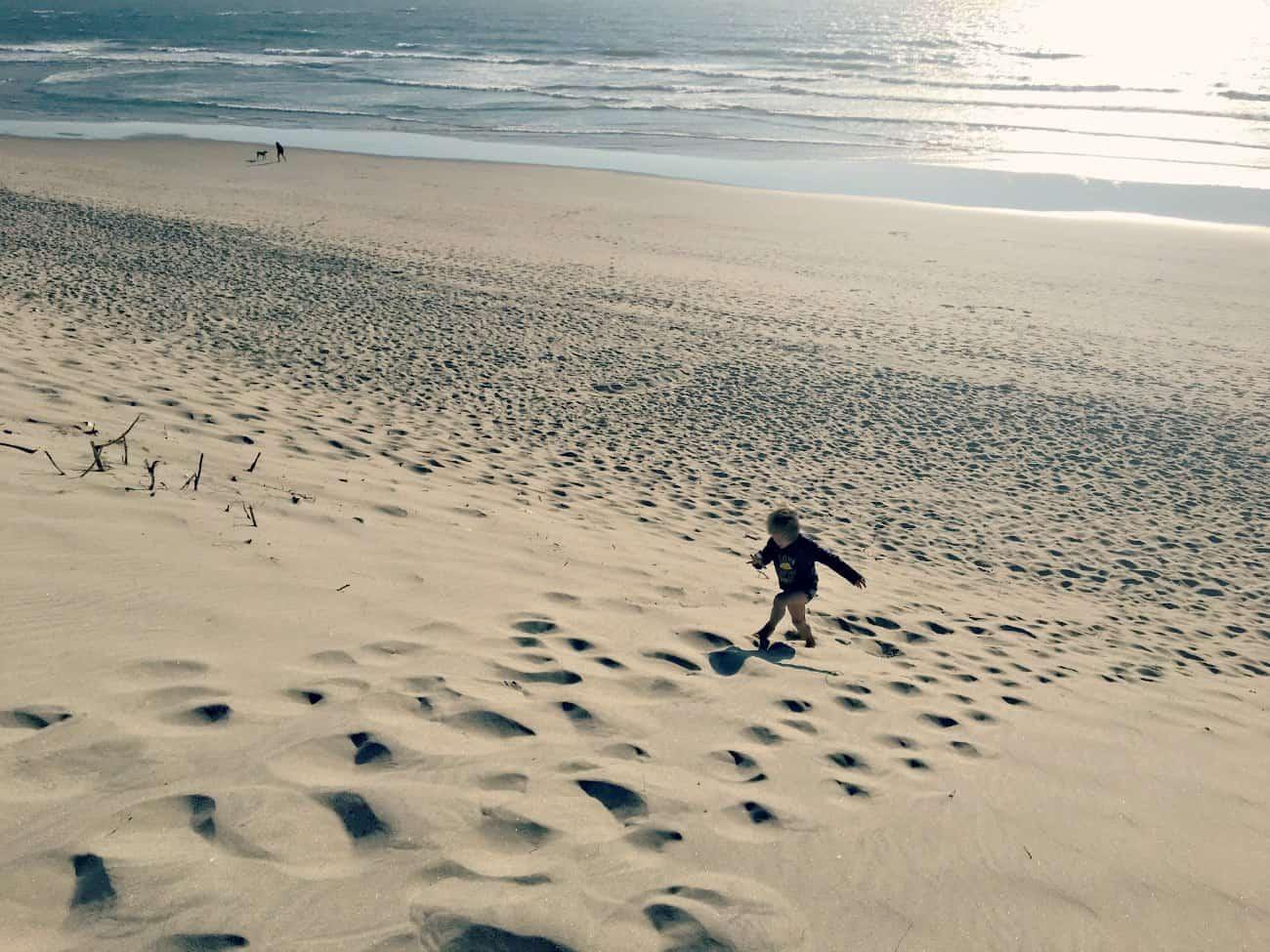 Portugalia z dziecmi - nad Oceanem