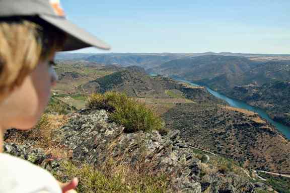 Duero na granicy Portugalii
