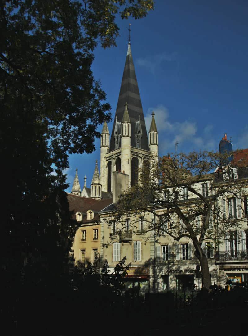 Dijon - Burgundia z dzieckiem