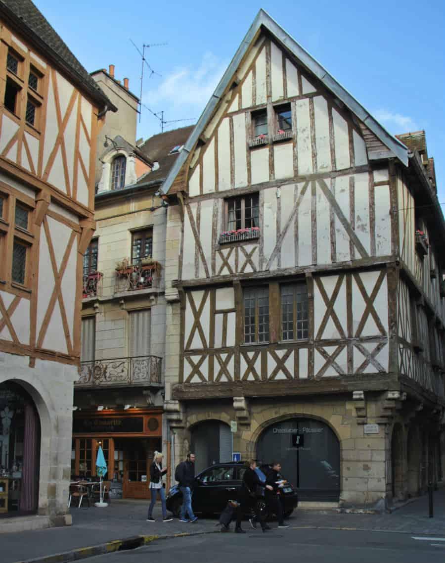 Kamienice w Dijon