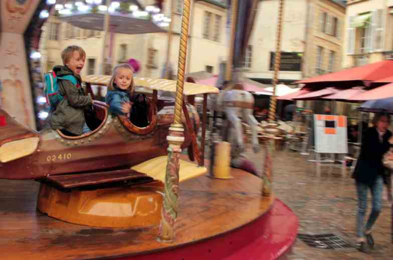 Karuzele w Dijon